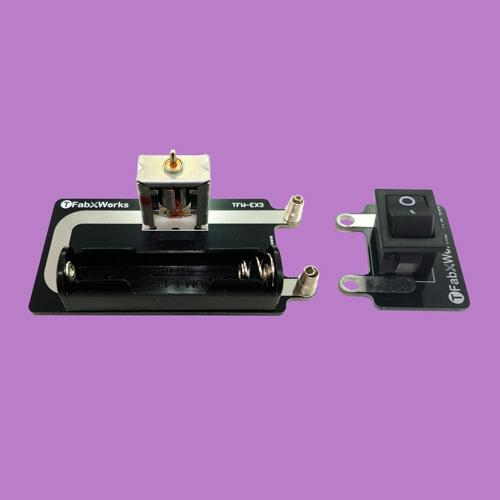 ワンタッチ接続モーター回路
