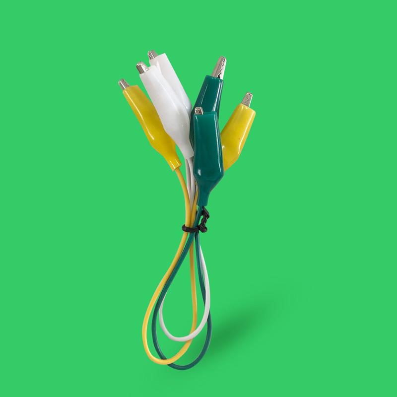 短いミノムシクリップケーブル(15cm)3本セット