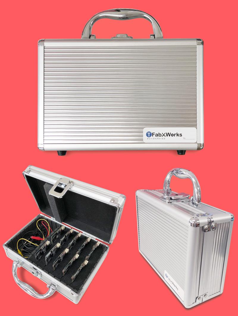 保管用導電スポンジアルミケース(10個用)